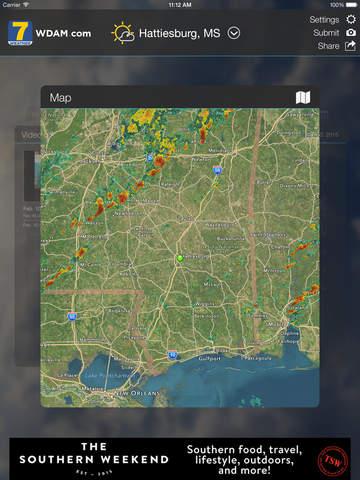 WDAM 7 First Alert Weather | Apps | 148Apps