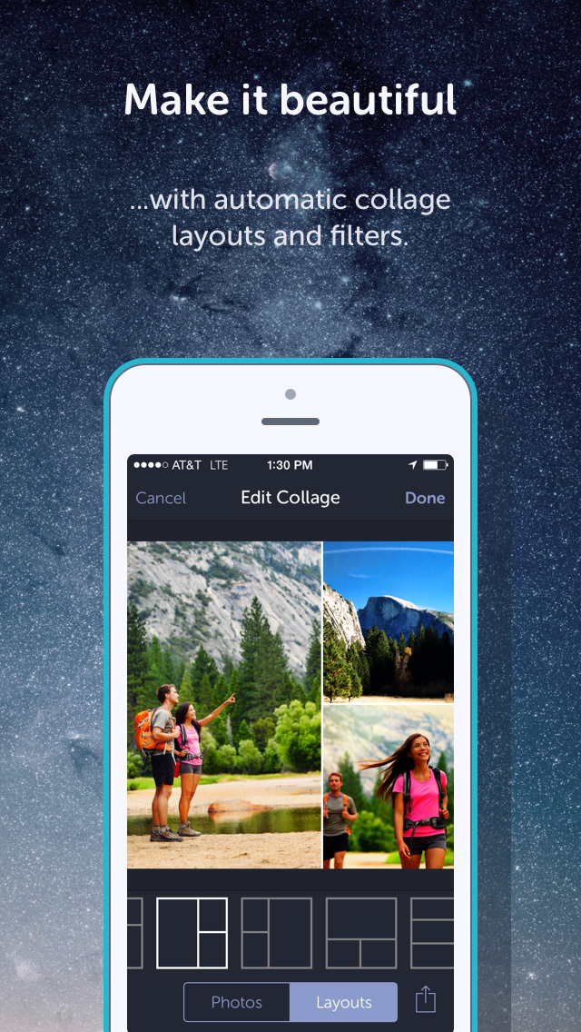 Heyday - The Automatic Photo Journal: Transform Your Camera Roll into a Collection of Memories screenshot 2