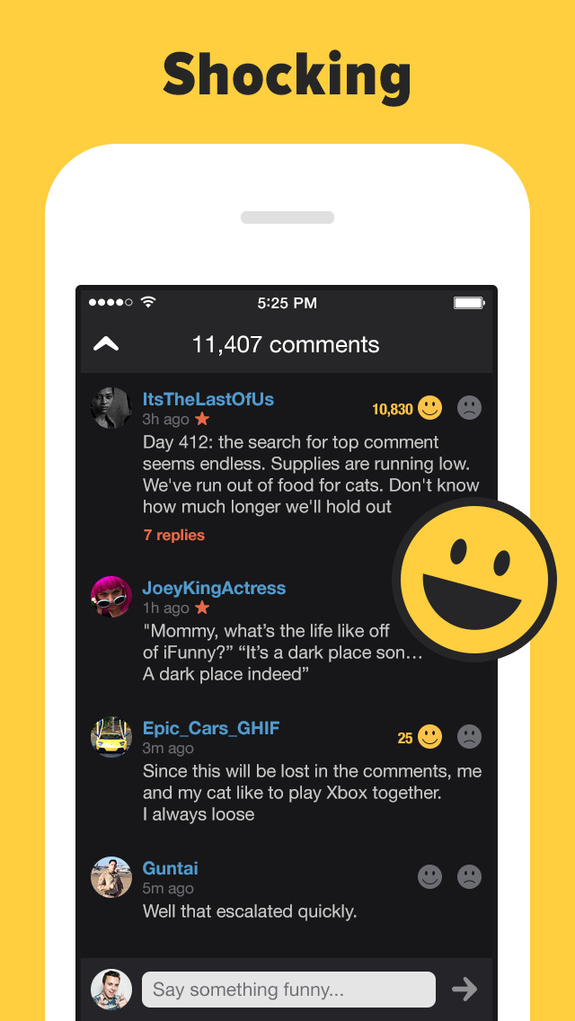 iFunny – hot memes and videos screenshot 3