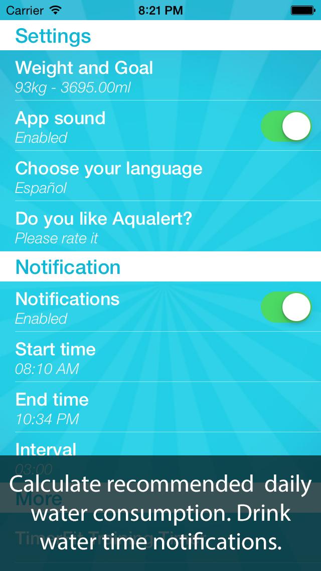 AQUALERT: Water Tracker Daily screenshot 3