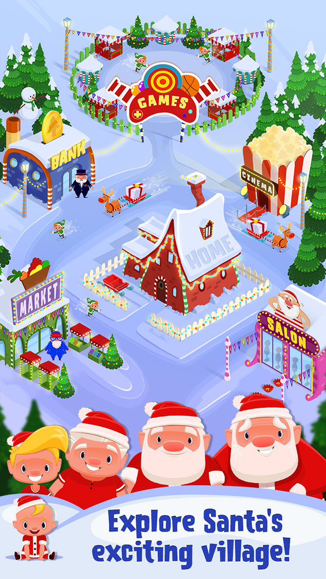 My Newborn Santa - Grow A Christmas Baby screenshot 5