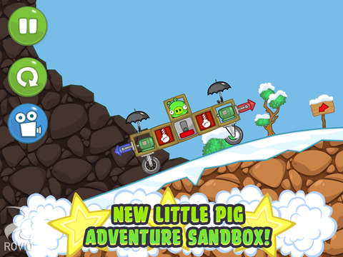 Bad Piggies HD Free screenshot 5