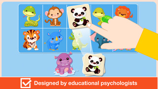 Baby First Words. Matching Educational Puzzle Games for Toddlers and Preschool Kids by Abby Monkey® Learning Clubhouse screenshot 5
