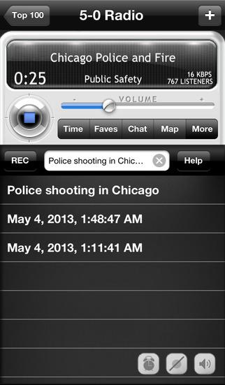5-0 Radio Police Scanner screenshot 2