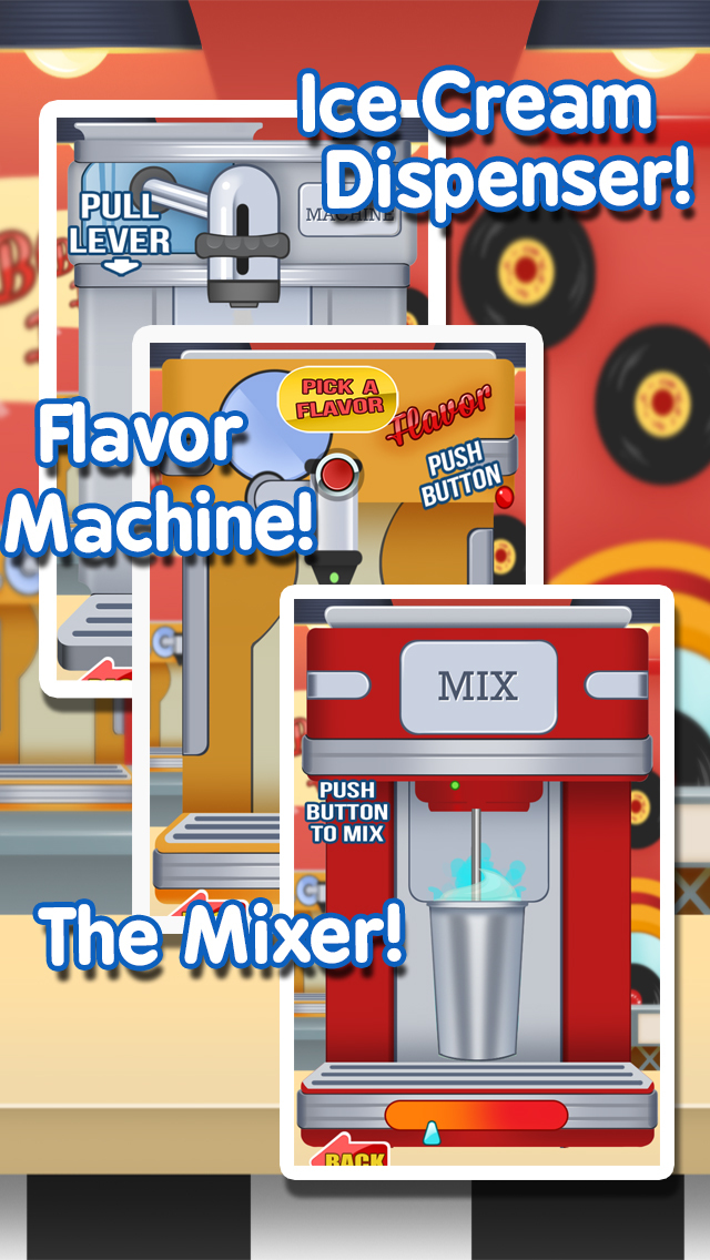 Milkshake Maker Ice Cream Cooking for Kids / Girls screenshot 3