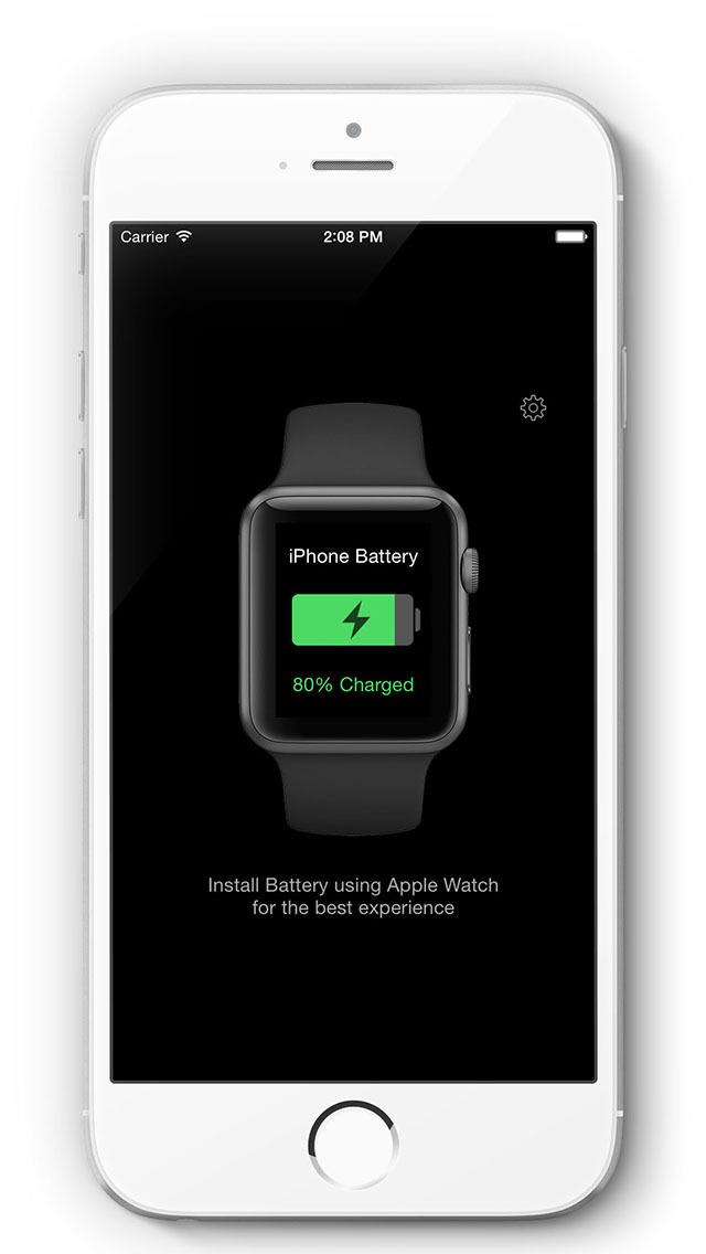 Battery - Check iPhone Battery on Watch screenshot 1
