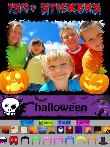 Halloween Photo Frames and Stickers screenshot 7