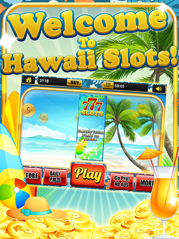 Ace Beach Vacation Slots Casino - Big Island Extreme Jackpot Slot Machine Games Free screenshot 6