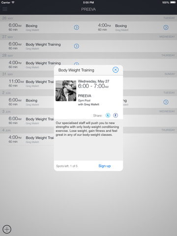 PREEVA Scheduler & Client App screenshot 5