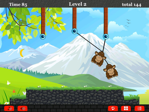 A Monkey Rope Animal Games For Pro screenshot 9