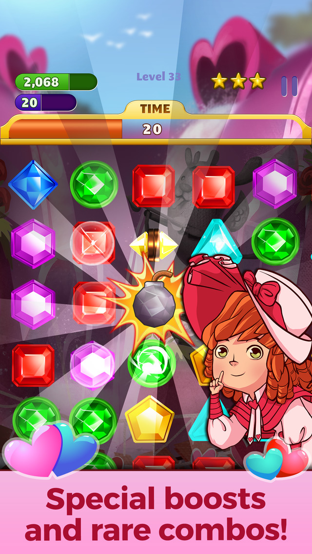Jewel Mania Valentine's Day screenshot 4