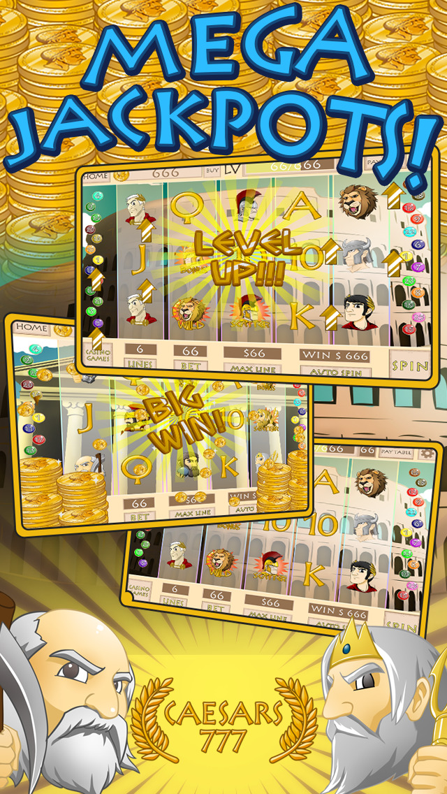 `Adventure Ceasars Slots Free screenshot 4