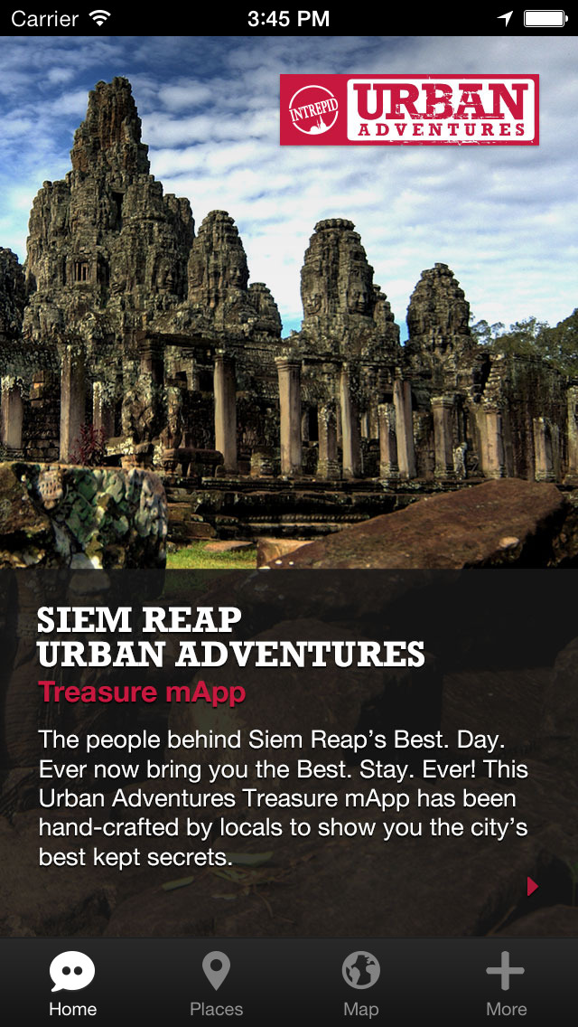 Siem Reap Urban Adventures - Travel Guide Treasure mApp screenshot 1