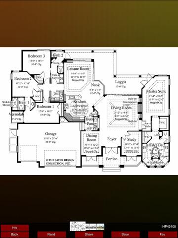 Italianate House Plans screenshot 8