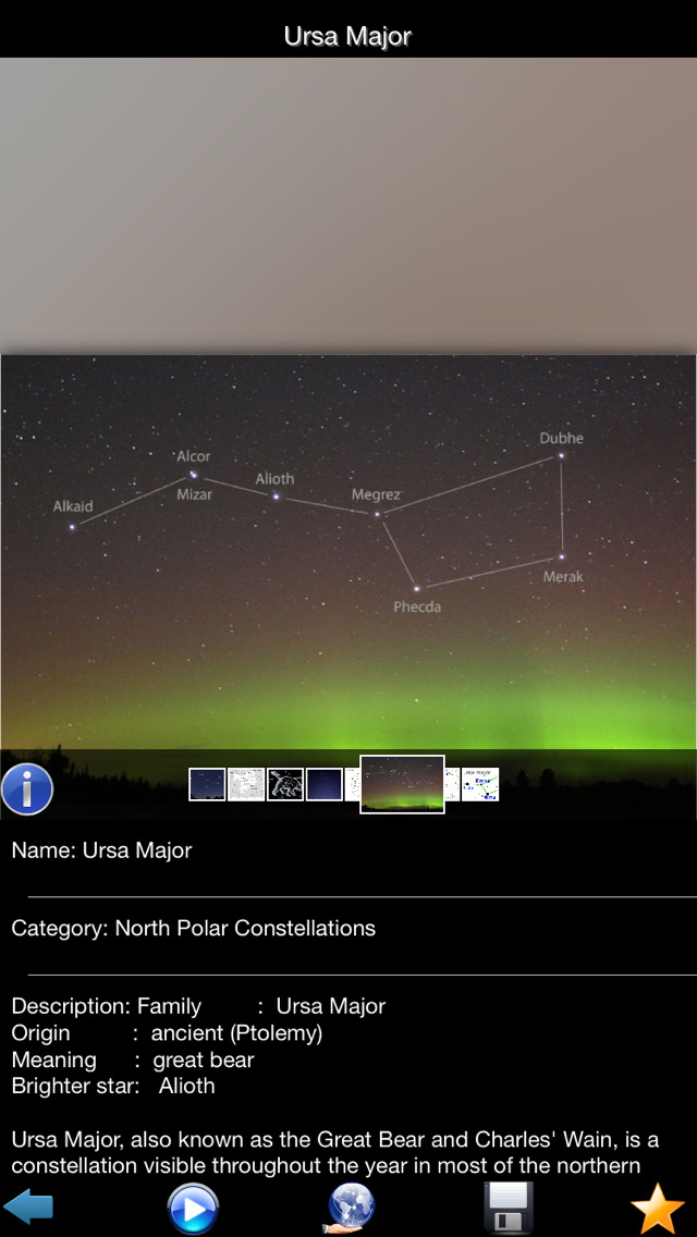 Constellations Encyclopedia screenshot 2