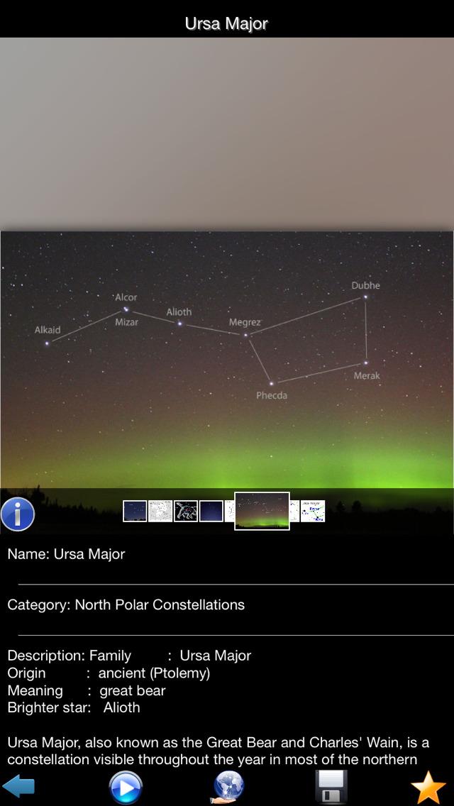 Constellations Encyclopedia screenshot 2