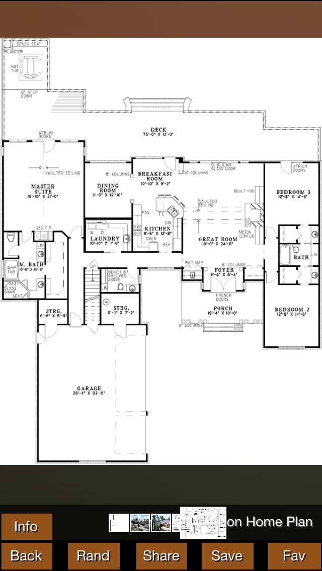 Vacation House Plans screenshot 2