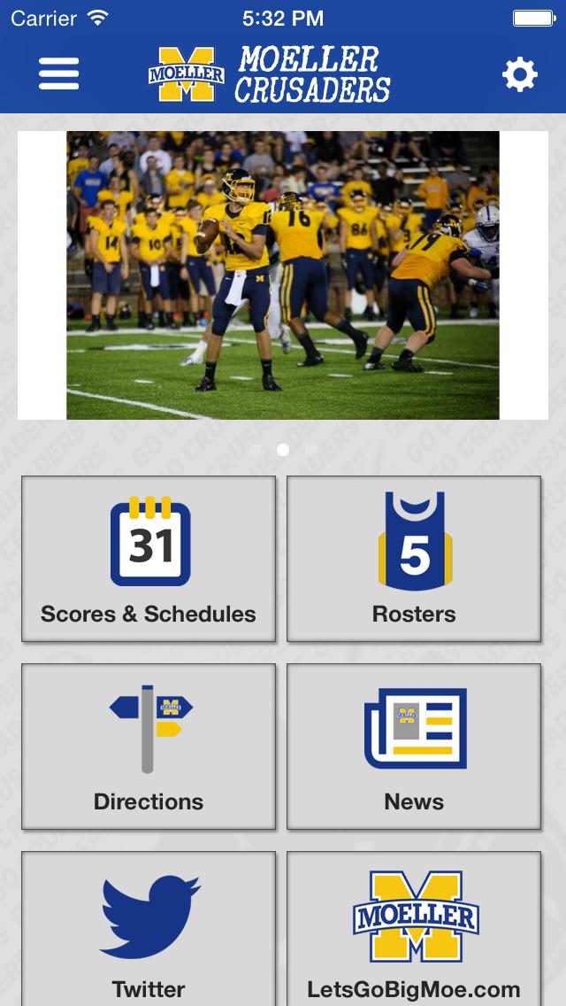 Moeller High School Sports screenshot 1