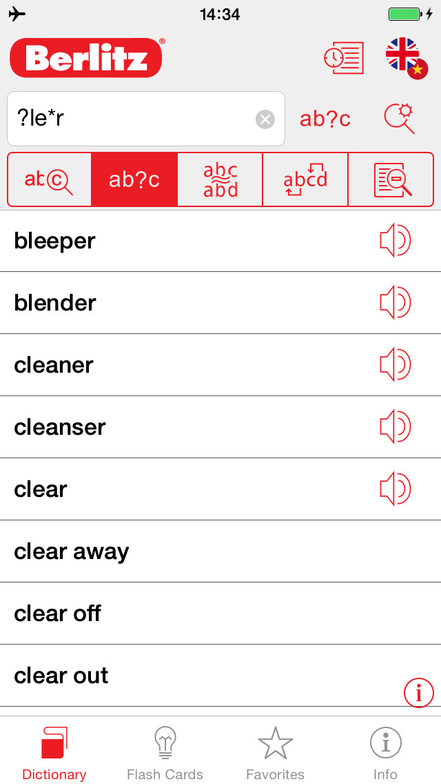 English - Vietnamese Berlitz Basic Dictionary screenshot 4