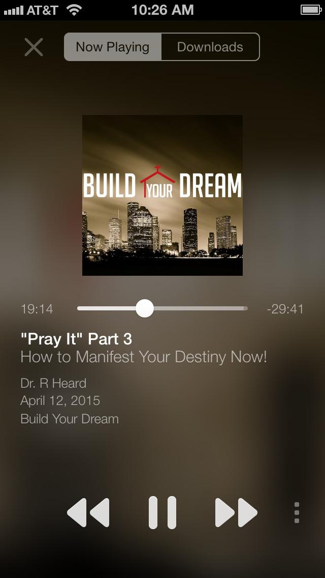 Inspire Church Houston screenshot 2