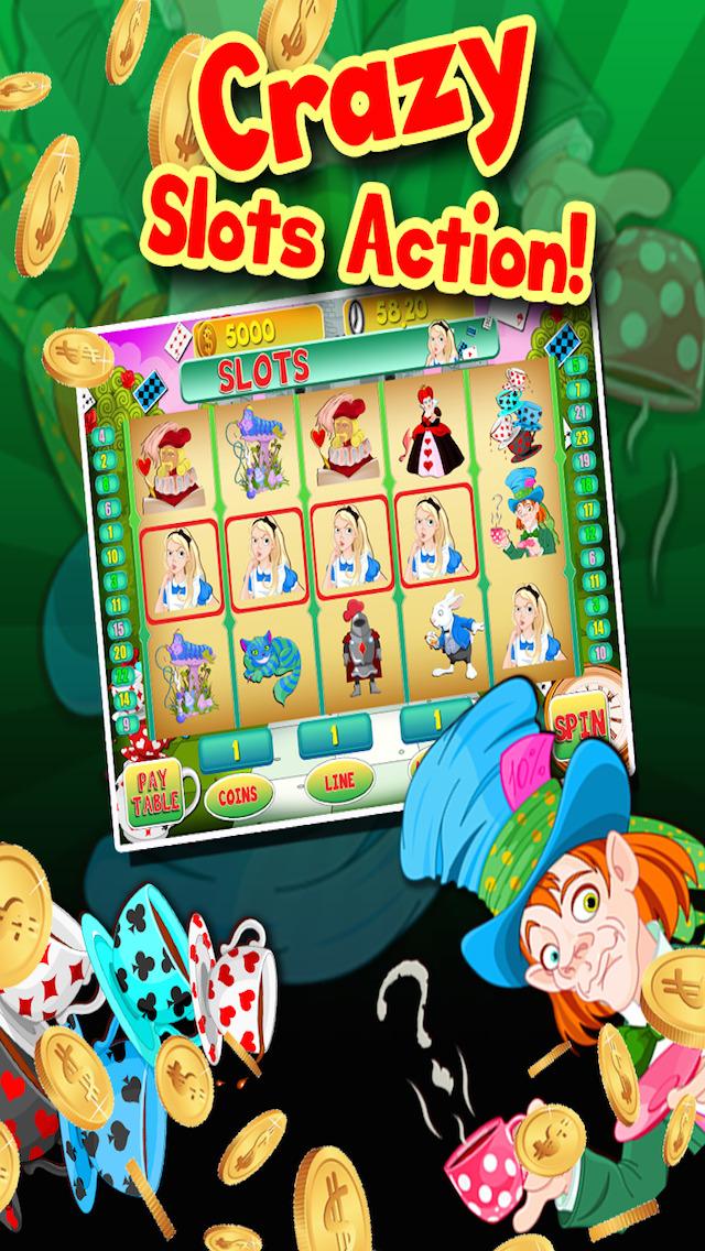 Alice Vegas Slots Casino - Wonderland Jackpot Journey Slot Machine Games Free screenshot 3