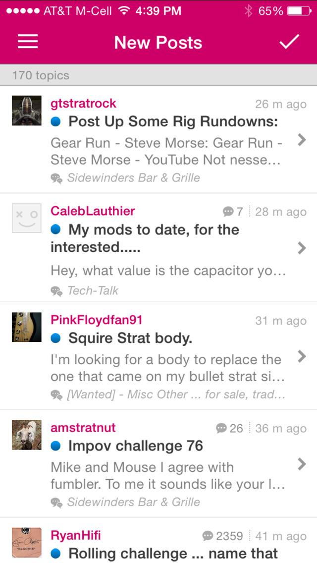 Strat-Talk Forum App screenshot 3