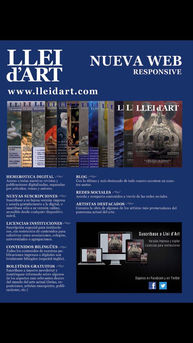 LLEI D'ART screenshot 2