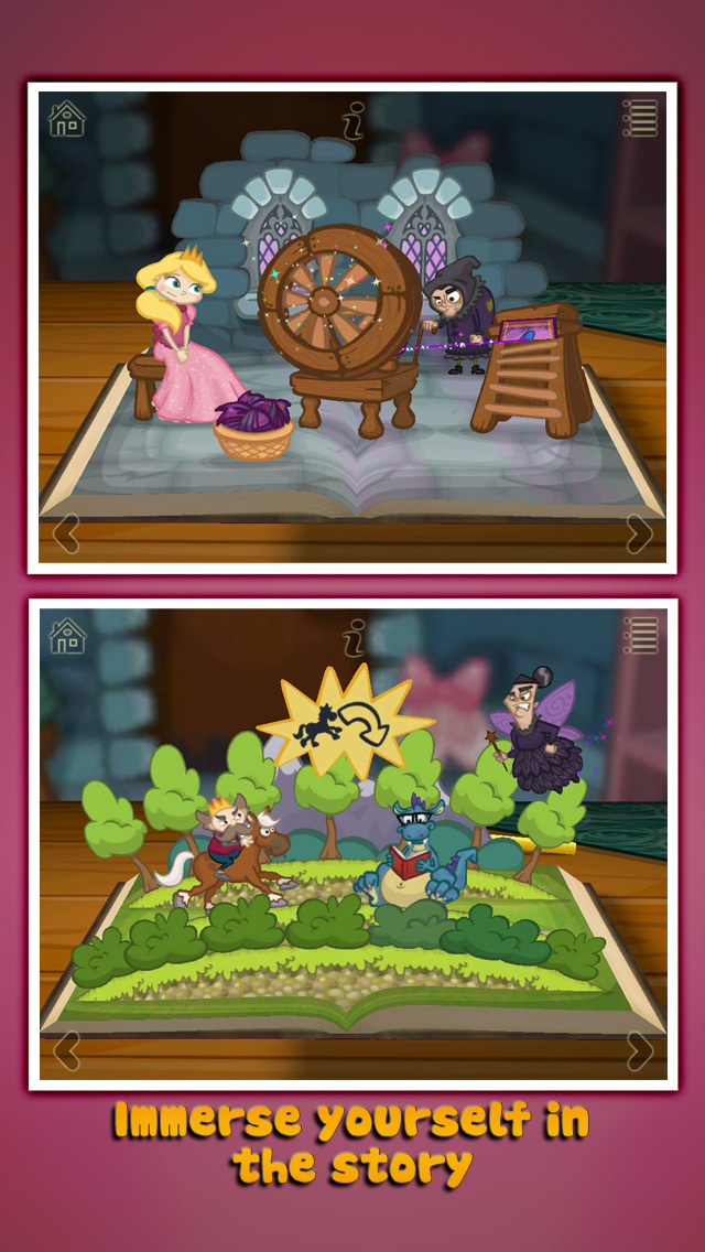 StoryToys Sleeping Beauty screenshot 5