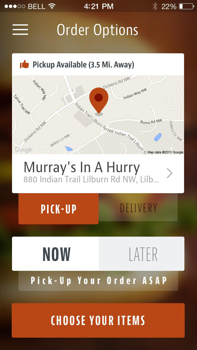 Murray's In A Hurry screenshot 2