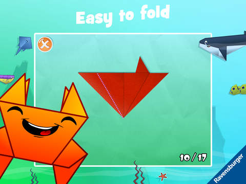 Play-Origami Ocean screenshot 7