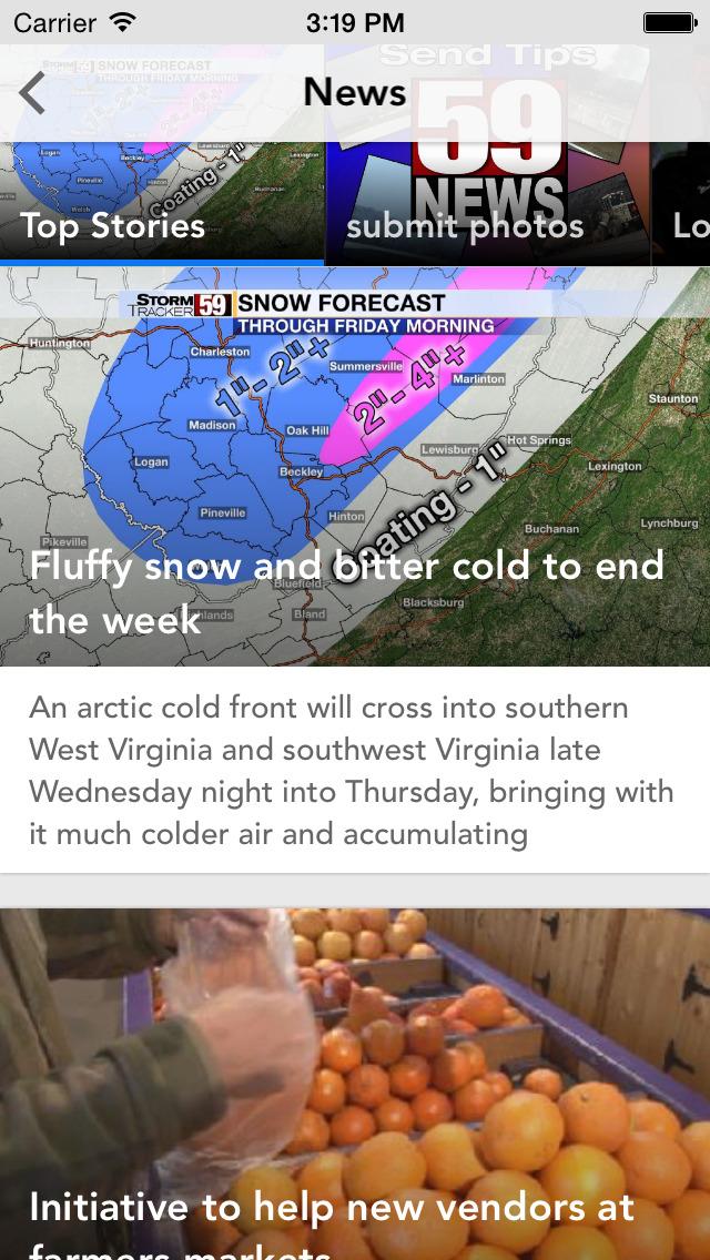WVNS 59News screenshot 2