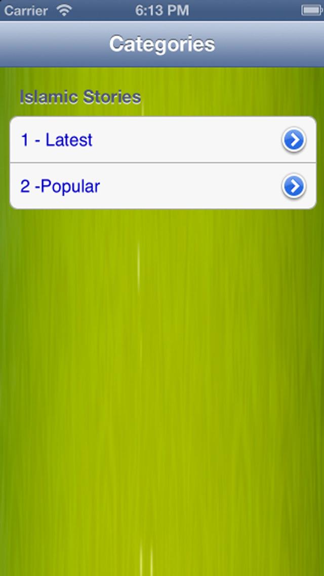 iPrayer Book - Islamic Stories Collection screenshot 1