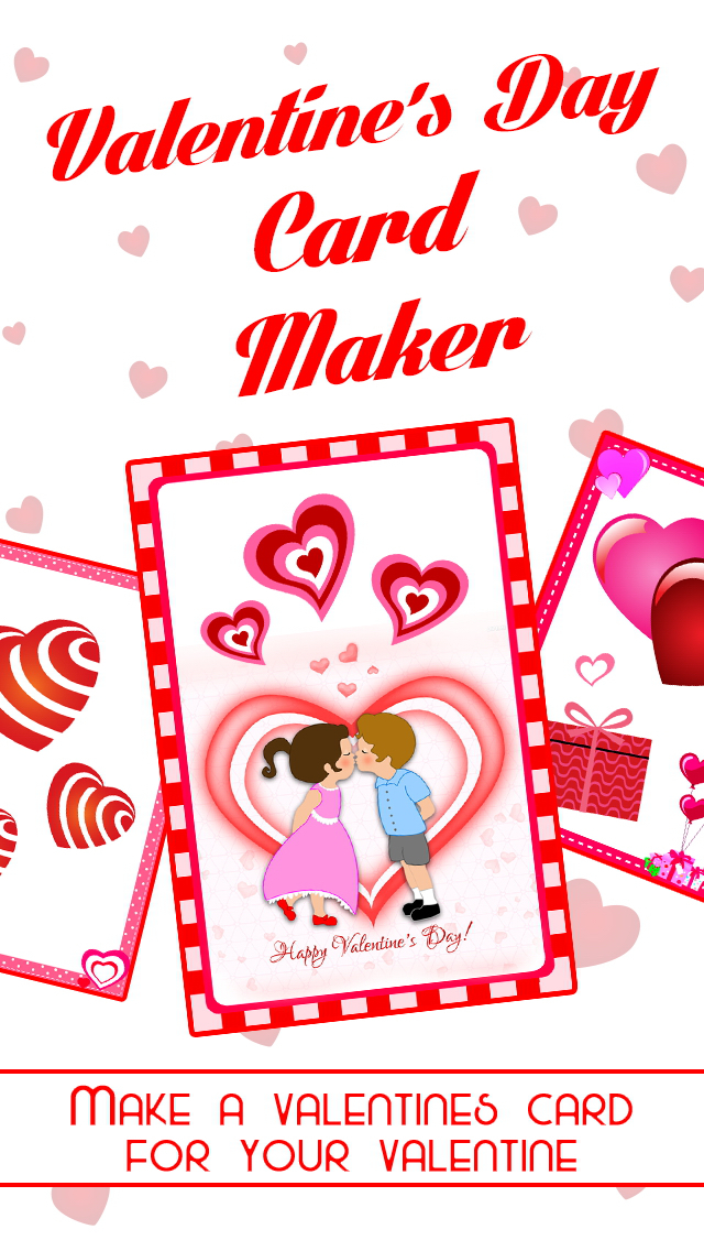 Romantic Card Maker - Love Cards, Romantic Ringtones, SMS & Valentine Countdown screenshot 1