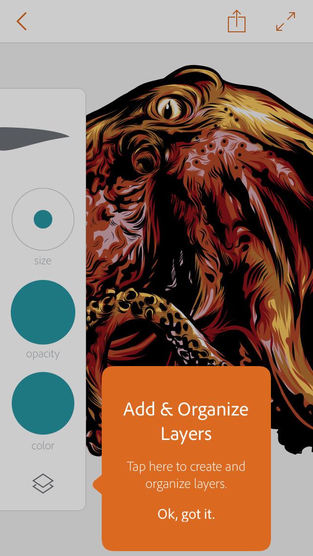 Adobe Illustrator Draw screenshot 3