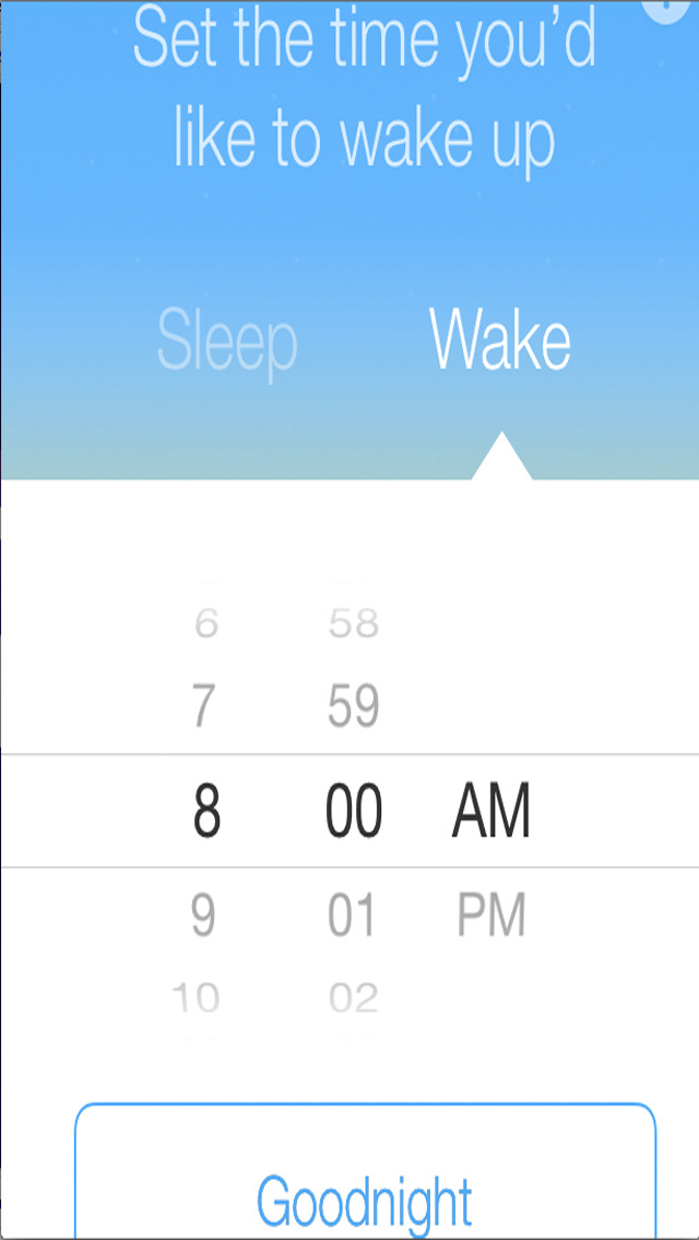 Goodnight Sleep Cycle Alarm Clock screenshot 4