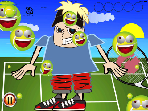 A Tennis Ball Swipe HD screenshot 8