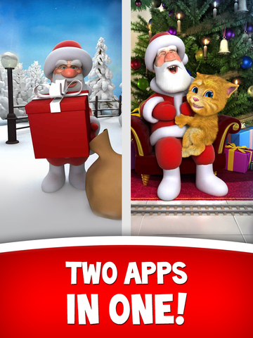 Talking Santa for iPad HD screenshot 3
