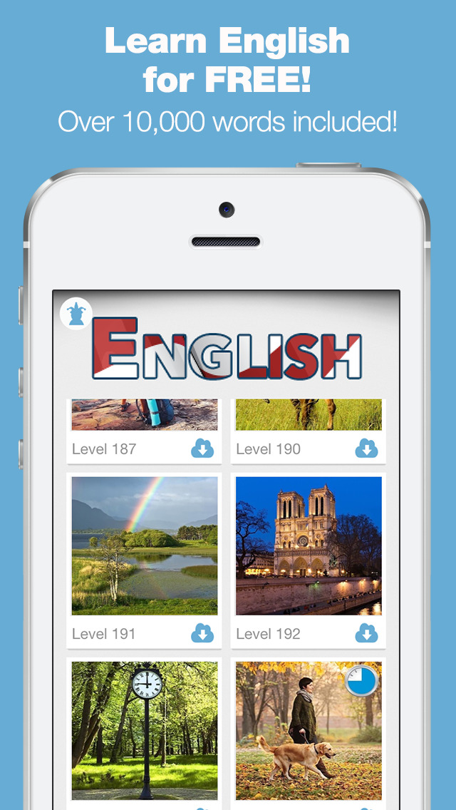 Learn English Games Academy - Free Vocabulary & Conversation Lessons screenshot 1