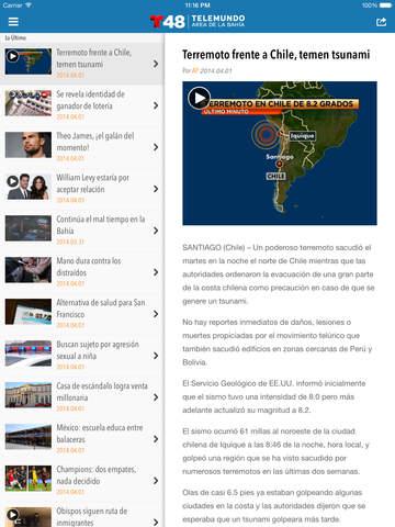 Telemundo 48 screenshot 8