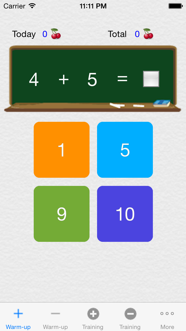 Make 10,100,1000 - Free(Complementary Number Training) screenshot 1