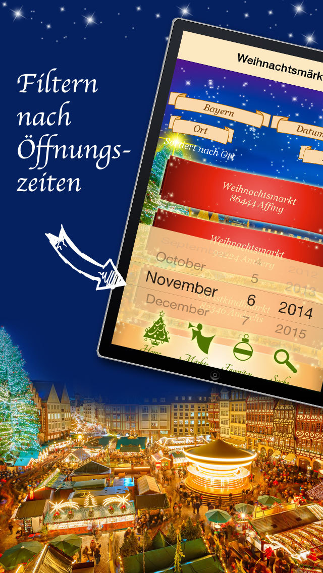 Weihnachtsmärkte 2014 - Weihnachtsmarkt-Suche: Advent + Weihnachten screenshot 4