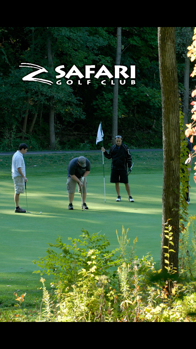Safari Golf Club screenshot 1