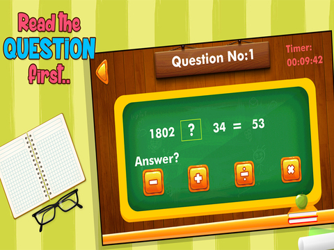Math Game : Four Operations - náhled