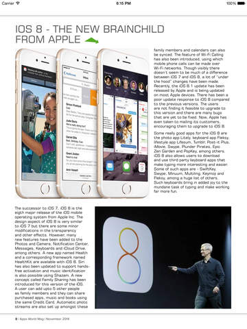 Apps World Mag screenshot 9