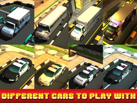 Action Police Car Parking Simulator 3D - Real Test Driving Game screenshot 7