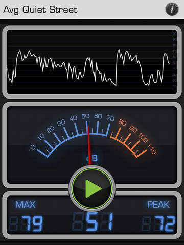 Decibel X: dB, dBA Noise Meter screenshot #1