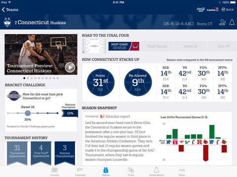 NCAA March Madness Live screenshot 10