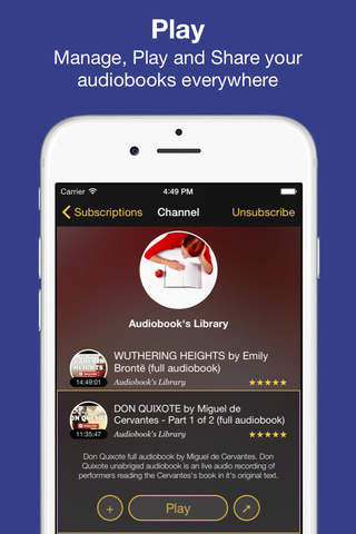 Whisper - Audiobooks, Bestsellers and Stories - náhled