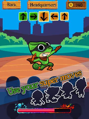 Change Man - Game of the Master of Disguise Superhero screenshot #1