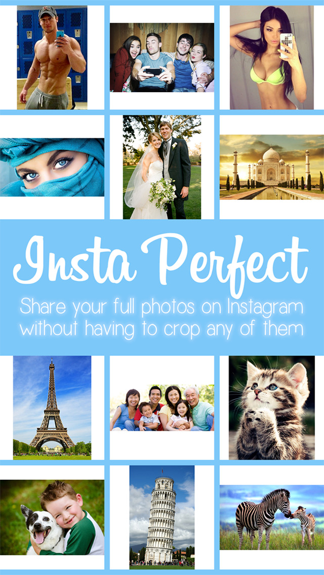 Insta Perfect - Resize Photos to Fit a Square in Instagram Without Cropping screenshot 3